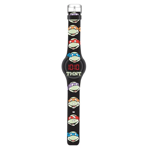 TMNT在黑暗的面孔发光手表