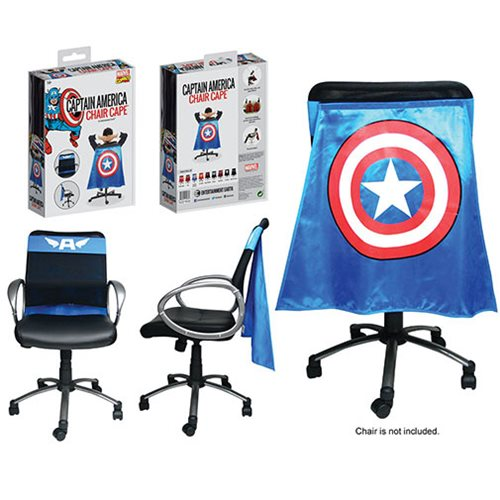Classic Captain America Chair Cape