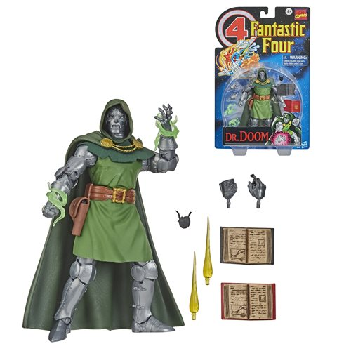 Marvel Vintage Series 6-inch Scale Dr. Doom 4 Action Figure