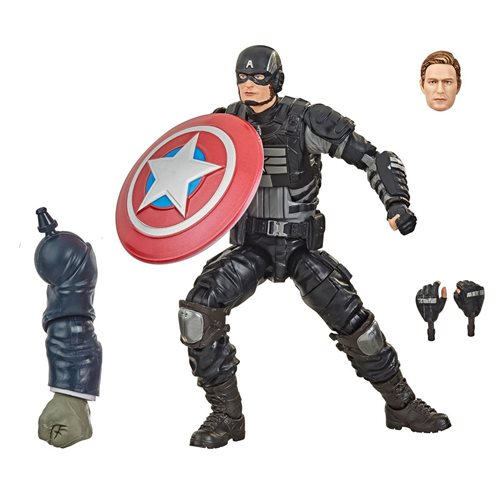 Avengers Video Game Marvel Legends 6-Inch Stealth Captain America Action Figure