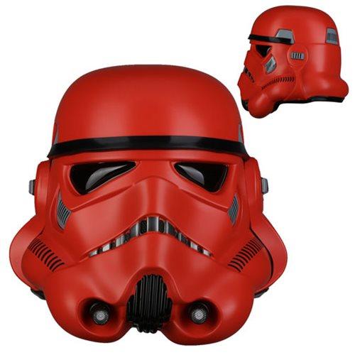 Star Wars Crimson Stormtrooper Helmet Prop Replica