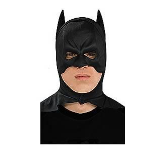 Batman The Dark Knight Full Overhead Latex Adult Batman Mask